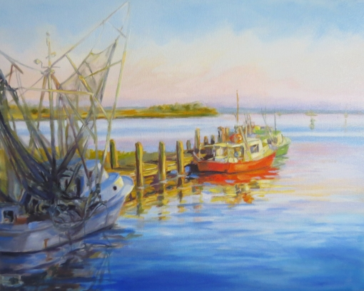 art-beaufortshrimpers30x24