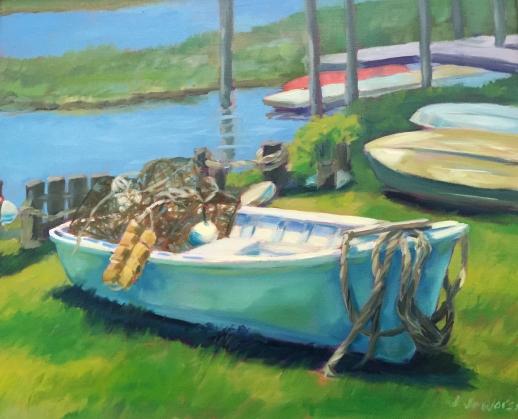 JUNEE-fish house row boat