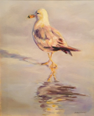 Gull Reflection