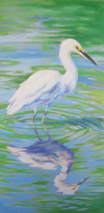 art-ripple-egret